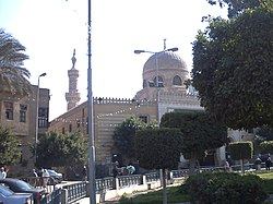 Masjid having Nafisa Mausoleum side by,Cairo .jpg