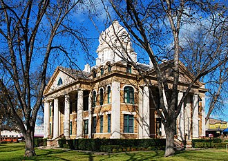 Fisher–Miller Land Grant - The Mason County Courthouse, built on land included in the Fisher–Miller Land Grant.