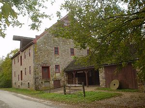 Whitemarsh Township, Montgomery County, Pennsylvania - Farmar Mill, built ca.1690