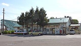Matsukawa Station Railway station in Fukushima, Fukushima Prefecture, Japan