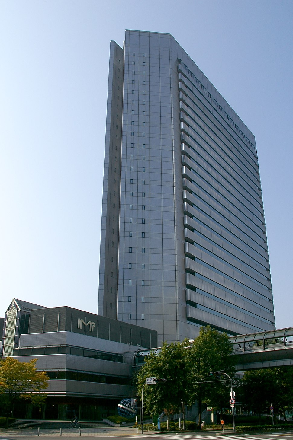 The Panasonic IMP Building in Osaka, Japan