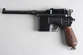Mauser C96 - Mauser C96 (9×19mm Parabellum)