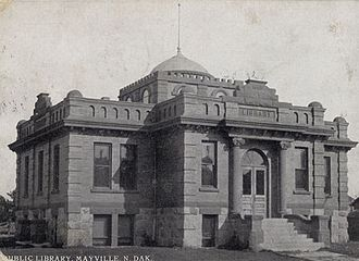 William C. Albrant - Mayville Public Library, Mayville, North Dakota. 1900.