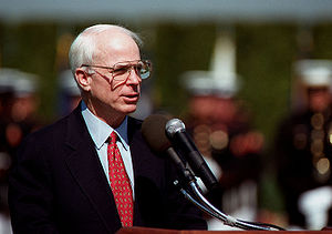 Political positions of John McCain - McCain delivers keynote address at the Pentagon on National POW/MIA Recognition Day, Sept. 19, 1997