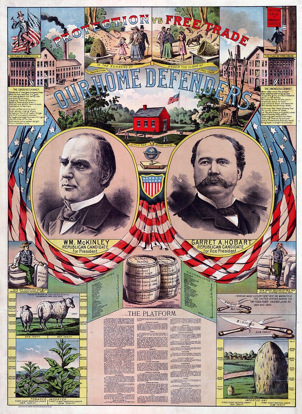 McKinley-Hobart 1896