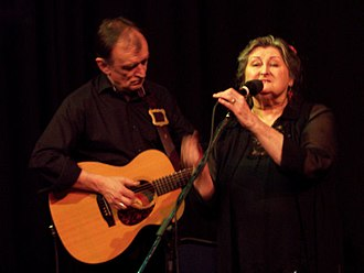 Martin Carthy - Martin Carthy and Norma Waterson at a Waterson–Carthy performance in Cranleigh, April 2006.