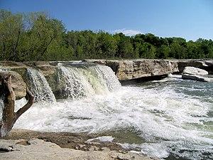 McKinney Falls State Park - Lower McKinney Falls