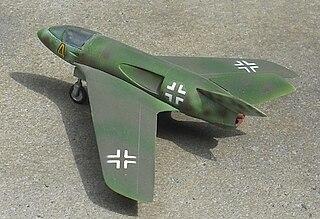 Messerschmitt P.1112 German fighter project