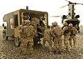 Medical Emergency Response Team Recovers a Casualty in Afghanistan MOD 45151884.jpg