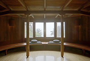 Esalen Institute - Meditation Room at Esalen