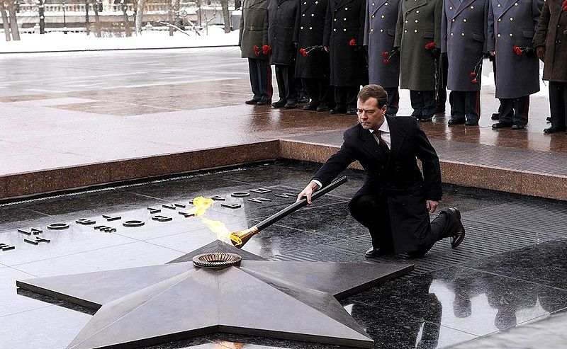 File:Medvedev - Tomb of the Unknown Soldier.jpeg
