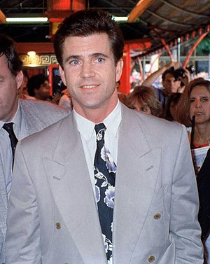 Photo of Mel Gibson at the premiere of Air Ame...