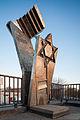 Memorial deported Jews Moabit railroad yard Berlin Germany.jpg