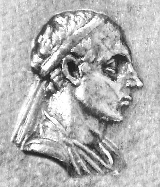 Menander I - Portrait of Menander I