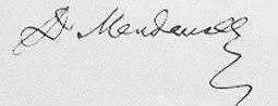 Mendelejew signature