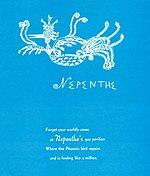 Menu, Nepenthe, Big Sur