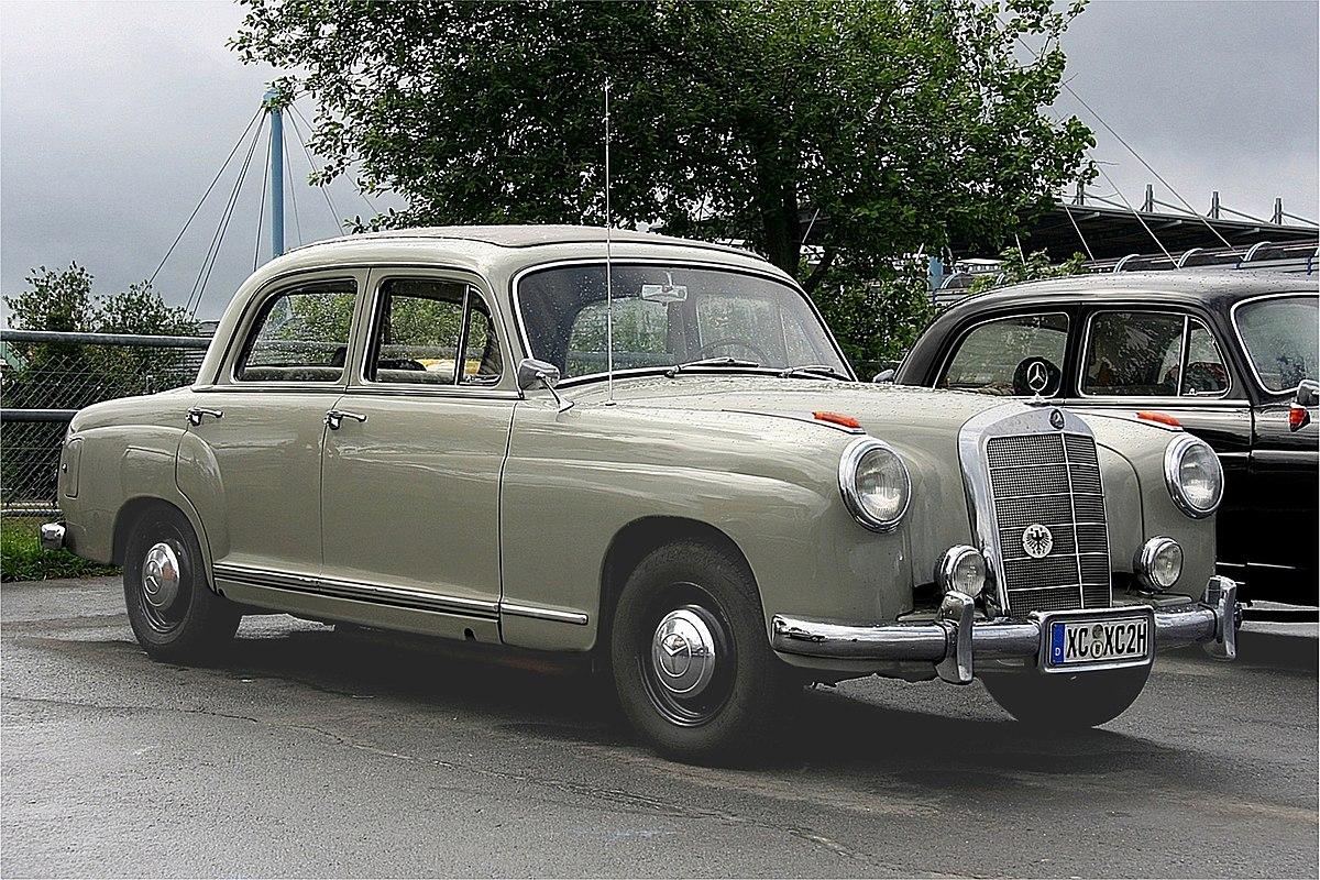 Mercedes-Benz W105 - Wikipedia