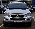 Mercedes-Benz ML 350 CDI 4MATIC Grand Edition (W 164, Facelift) – Frontansicht, 17. Mai 2012, Velbert.jpg