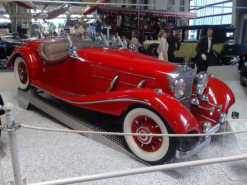 mercedes benz 540k 1938 spezial roadsterjpg