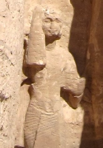 Meryatum - Meryatum next to his father Ramesses II at the small temple at Abu Simbel.