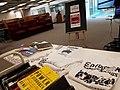 Mesa de premios del editatón Movimientos Sociales en la Biblioteca Daniel Cosío Villegas.jpg