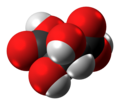 Meso-Tartaric acid molecule spacefill from xtal.png
