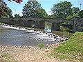 Messeugne (Savigny-sur-Grosne, Saône-et-Loire, Fr) La Grosne, le pont.JPG