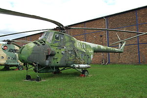Mil Mi-4 - Mil Mi-4 at Prague Aviation Museum