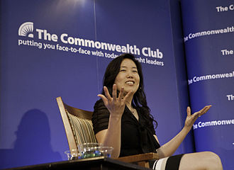 Commonwealth Club of California - Education advocate Michelle Rhee speaking in 2013