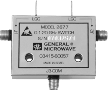 a pin diode rf microwave switch
