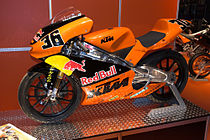 KTM 125 cc wegrace-machine