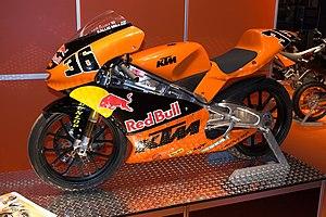 KTM - Mika Kallio's 125 cc road race motorcycle