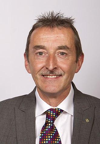 Lichfield District Council - Council leader Mike Wilcox