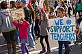 Milwaukee Public School Teachers and Supporters Picket Outside Milwaukee Public Schools Adminstration Building Milwaukee Wisconsin 4-24-18 1088 (27863908898).jpg