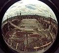 Mini Auditorium Under Construction - Convention Centre Complex - Science City - Calcutta 1994-10-07 1047.JPG