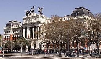Palacio de Fomento - Image: Ministerio de Agricultura (Madrid) 02