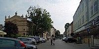Miodowa street (view to E), Kazimierz, Krakow, Poland.jpg
