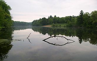 Mirror Lake State Park - The lake gets its name from its often-still surface