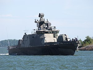 Finnish Navy - ''Hamina''-class fast attack craft Pori, commissioned in 2006, is the newest fast attack craft of the Finnish Navy