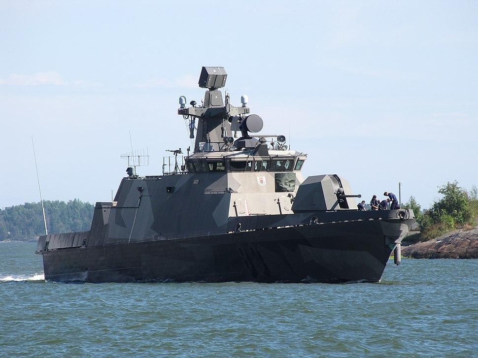 Missile boat Pori South Harbor 1