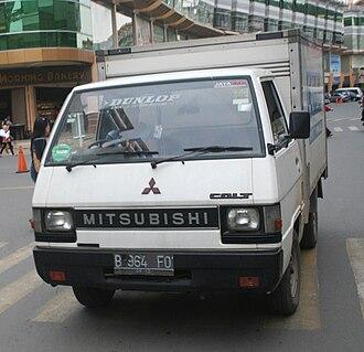 Mitsubishi Delica - Mitsubishi Colt L300 Diesel pickup (Indonesia)