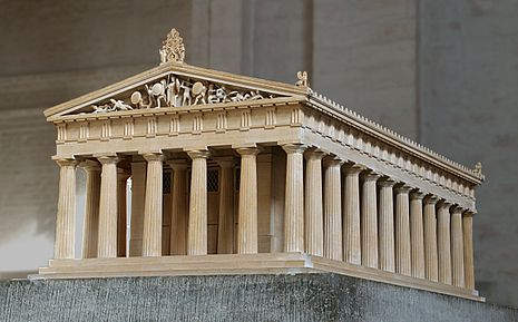 Quatre images - Un mot [Jeu à points] 465px-Model_temple_of_Aphaia_Glyptothek_Munich
