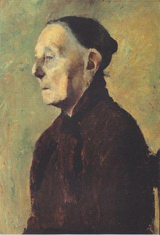 Modersohn-Becker - Brustbild einer alten Frau im Profil.jpeg