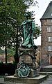 Moers, Statue Luise Henriette von Oranien, 2011-09 CN-02.JPG