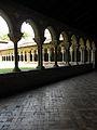 Moissac (82) Abbaye Saint-Pierre Cloître 02.JPG