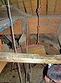 Molen Achtkante molen, kap vangbalk hangereel.jpg