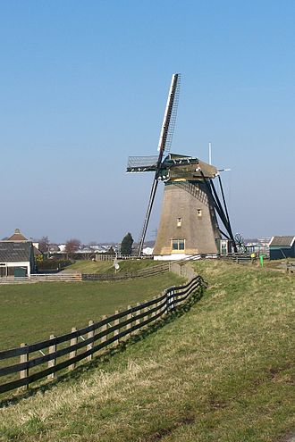 Lisse - Windmill in Lisse.