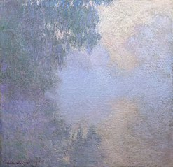 Branch of the Seine near Giverny (Mist), from the series \