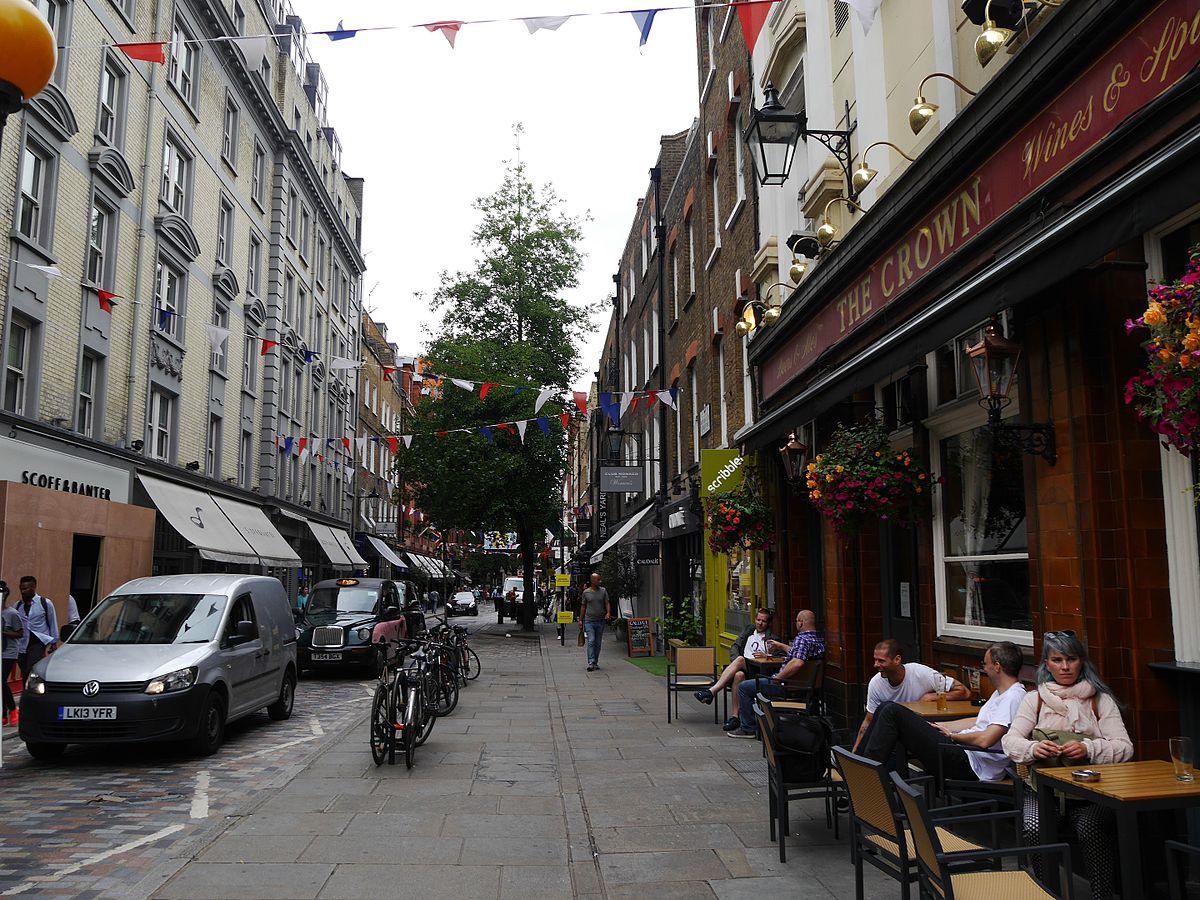 Monmouth Street  London