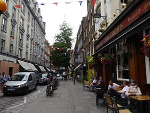 Monmouth Street, London - Monmouth Street, 2016
